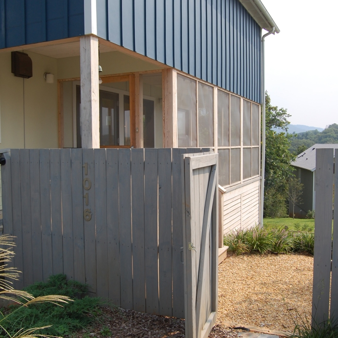 side screened porch -A House with a Porch project