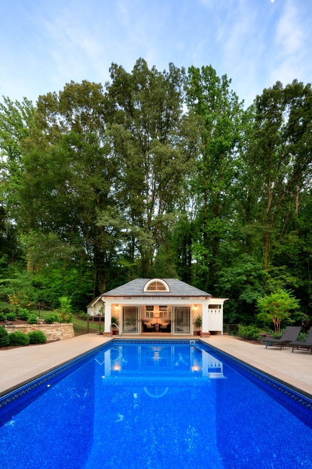 city poolhouse
