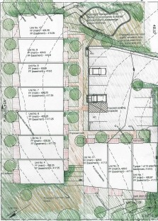 site plan-Garden Terrace Residences project