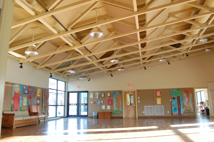 the community hall-a multi use space -The Fine Arts Building project