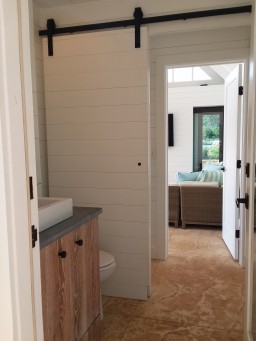 private bath & dressing space-The Southwest Mountains Cabana project
